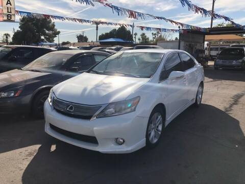 2010 Lexus HS 250h for sale at Valley Auto Center in Phoenix AZ