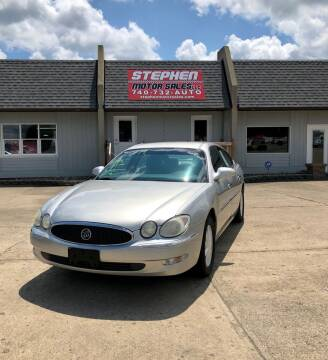 2006 Buick LaCrosse for sale at Stephen Motor Sales LLC in Caldwell OH