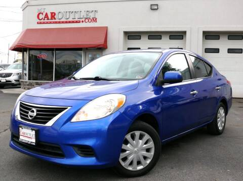 2012 Nissan Versa for sale at MY CAR OUTLET in Mount Crawford VA