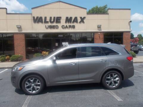 2016 Kia Sorento for sale at ValueMax Used Cars in Greenville NC