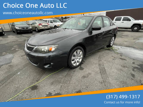 2009 Subaru Impreza for sale at Choice One Auto LLC in Beech Grove IN