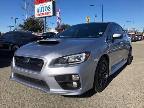2016 Subaru WRX for sale at MISSION AUTOS in Hayward CA