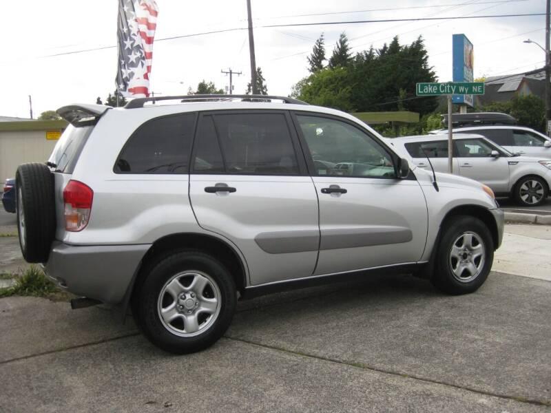 2002 Toyota RAV4 for sale at UNIVERSITY MOTORSPORTS in Seattle WA