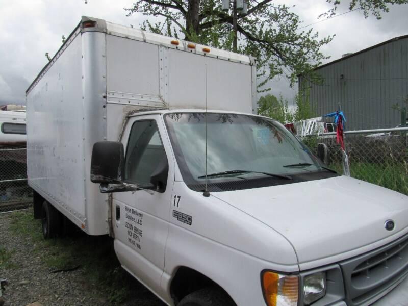 1996 Ford E-450 16ft. Box Truck - Algona WA