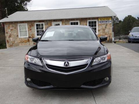 2013 Acura ILX for sale at Flywheel Auto Sales Inc in Woodstock GA
