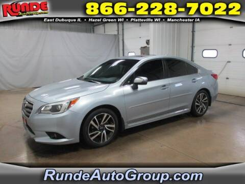 2017 Subaru Legacy for sale at Runde Chevrolet in East Dubuque IL