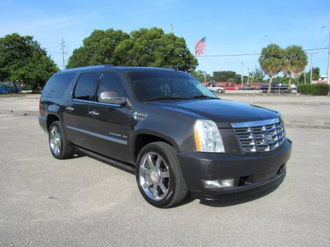 2010 Cadillac Escalade ESV for sale at United Auto Center in Davie FL