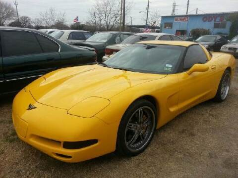 2000 Chevrolet Corvette for sale at Ody's Autos in Houston TX