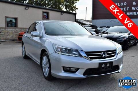 2013 Honda Accord for sale at LAKESIDE MOTORS, INC. in Sachse TX