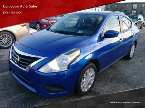 2016 Nissan Versa for sale at European Auto Sales in Bridgeview IL