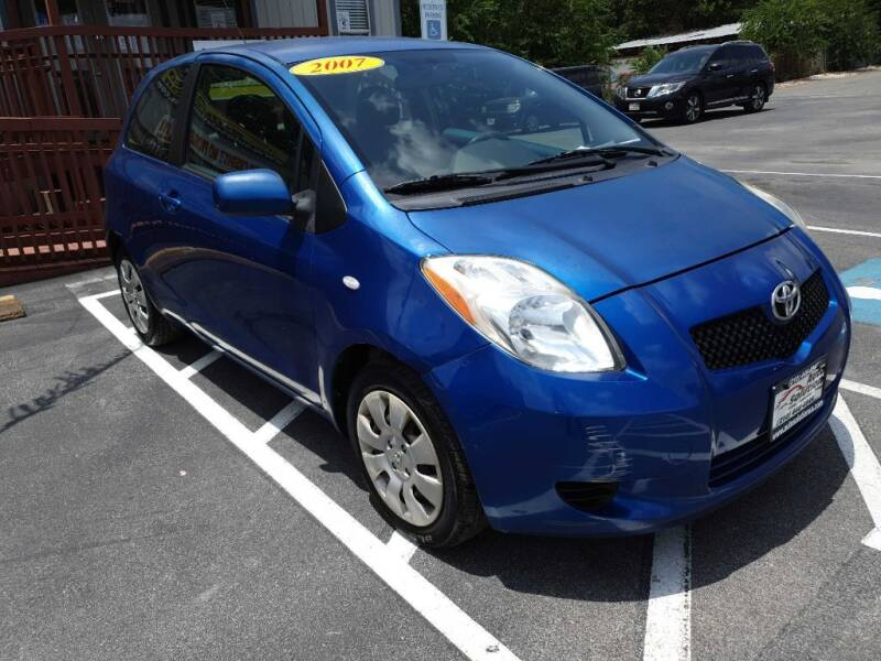 2007 Toyota Yaris for sale at Auto Solution in San Antonio TX