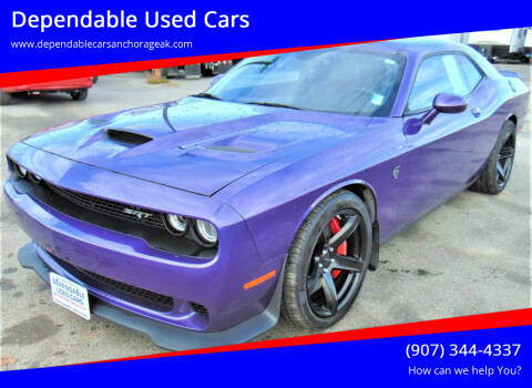 2016 Dodge Challenger for sale at Dependable Used Cars in Anchorage AK