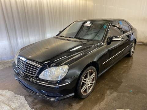2004 Mercedes-Benz S-Class for sale at Sportscar Group INC in Moraine OH