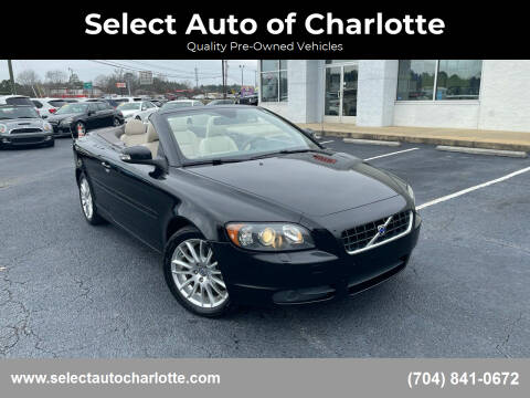 2009 Volvo C70 for sale at Select Auto of Charlotte in Matthews NC