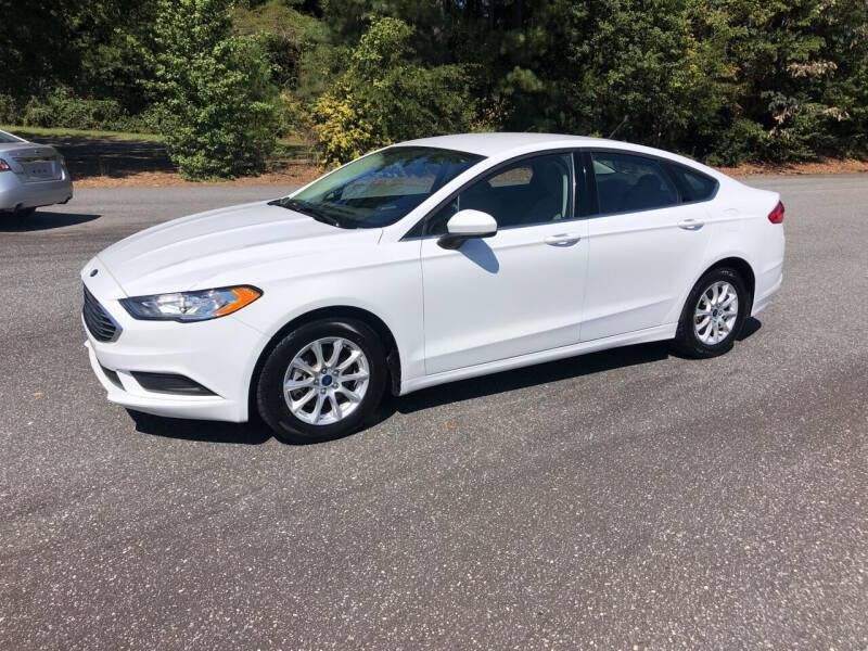 2017 Ford Fusion for sale at Dorsey Auto Sales in Anderson SC