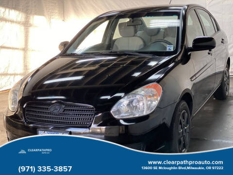 2010 Hyundai Accent for sale at CLEARPATHPRO AUTO in Milwaukie OR