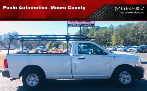 2015 RAM Ram Pickup 1500 for sale at Poole Automotive -Moore County in Aberdeen NC