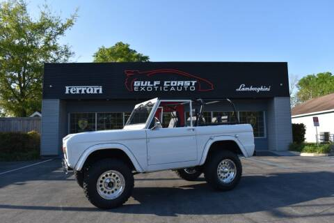 1967 Ford Bronco for sale at Gulf Coast Exotic Auto in Biloxi MS