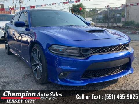 2018 Dodge Charger for sale at CHAMPION AUTO SALES OF JERSEY CITY in Jersey City NJ