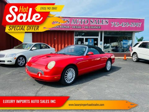 2005 Ford Thunderbird for sale at LUXURY IMPORTS AUTO SALES INC in North Branch MN