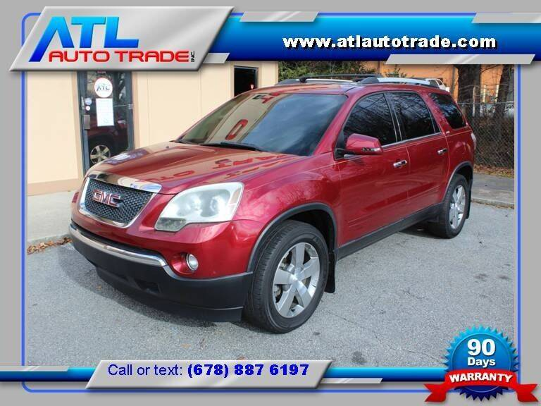 2011 GMC Acadia for sale at ATL Auto Trade, Inc. in Stone Mountain GA