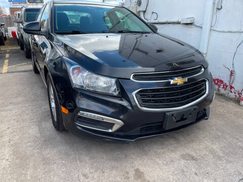 2015 Chevrolet Cruze for sale at GRAND USED CARS  INC in Little Ferry NJ