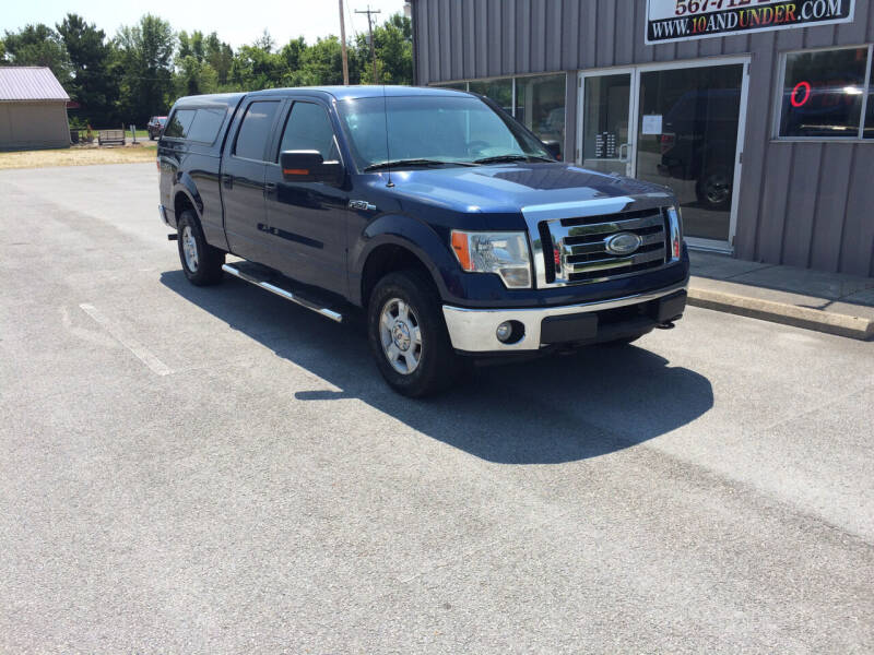 2009 Ford F-150 for sale at KEITH JORDAN'S 10 & UNDER in Lima OH