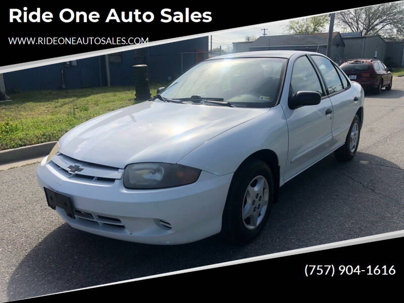 2004 Chevrolet Cavalier for sale at Ride One Auto Sales in Norfolk VA