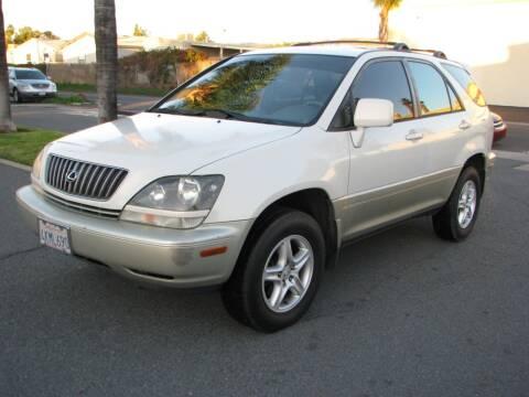 2000 Lexus RX 300 for sale at M&N Auto Service & Sales in El Cajon CA