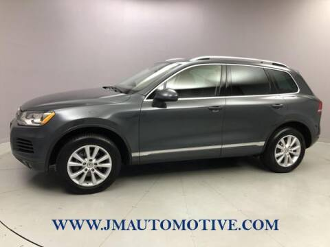 2014 Volkswagen Touareg for sale at J & M Automotive in Naugatuck CT
