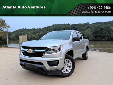 2020 Chevrolet Colorado for sale at Atlanta Auto Ventures in Roswell GA