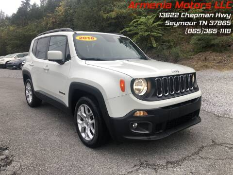 2018 Jeep Renegade for sale at Armenia Motors in Seymour TN
