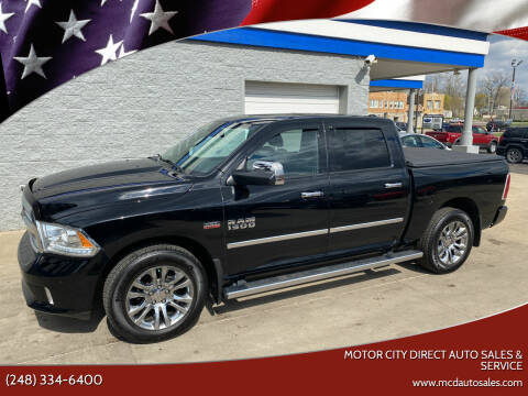 2014 RAM Ram Pickup 1500 for sale at Motor City Direct Auto Sales & Service in Pontiac MI