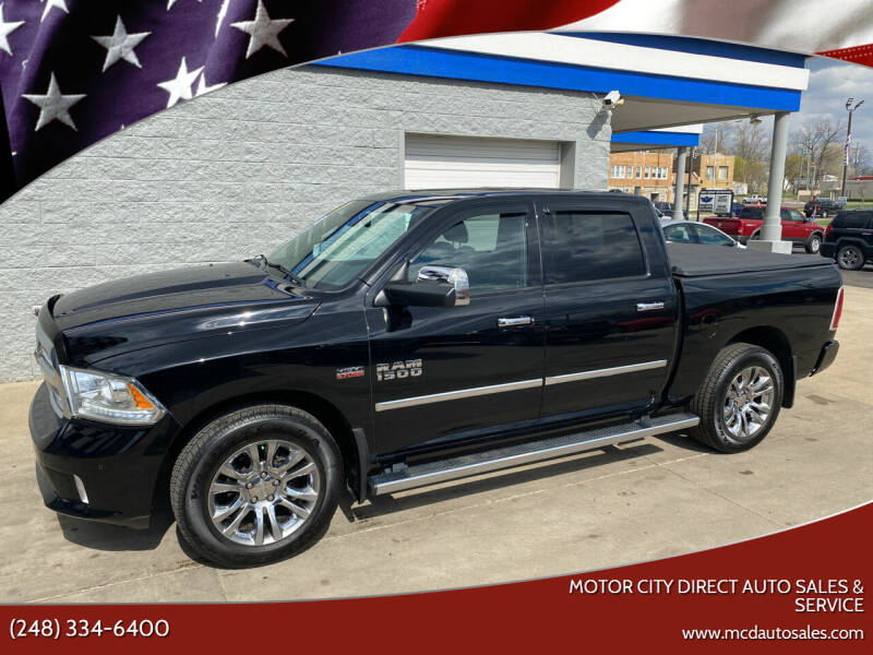 2014 RAM Ram Pickup 1500 for sale at Motor City Direct Auto Sales & Service in Pontiac MI