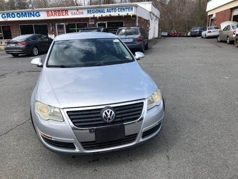 2007 Volkswagen Passat for sale at REGIONAL AUTO CENTER in Stafford VA