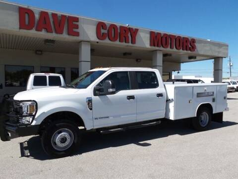 2019 Ford F-350 Super Duty for sale at DAVE CORY MOTORS in Houston TX