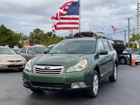 2012 Subaru Outback for sale at KD's Auto Sales in Pompano Beach FL