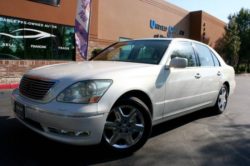 2004 Lexus LS 430 for sale at CK Motors in Murrieta CA