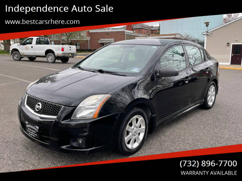 2010 Nissan Sentra for sale at Independence Auto Sale in Bordentown NJ