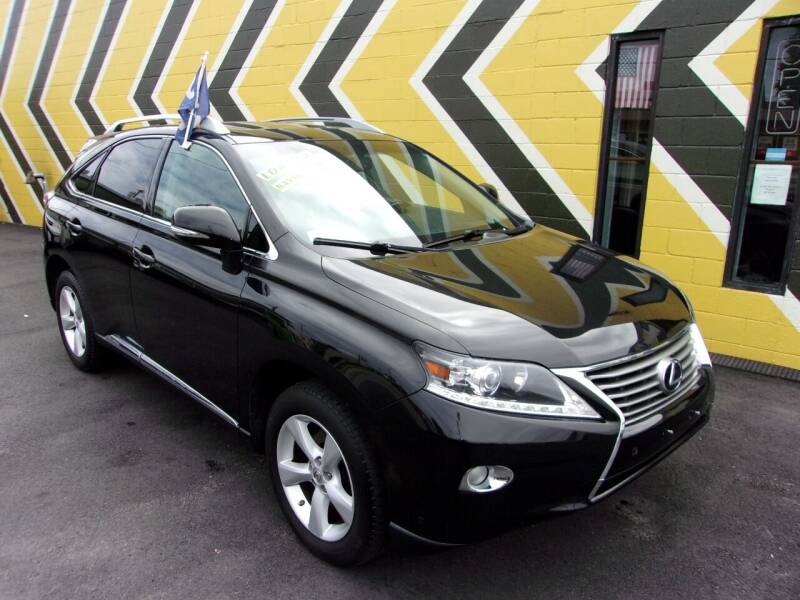 2013 Lexus RX 350 for sale at MIRACLE AUTO SALES in Cranston RI