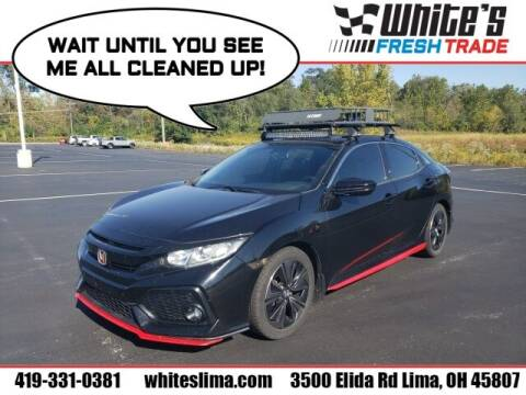 2017 Honda Civic for sale at White's Honda Toyota of Lima in Lima OH