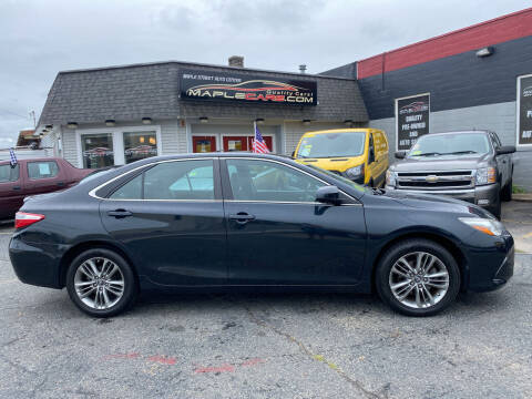 2017 Toyota Camry for sale at Maple Street Auto Center in Marlborough MA