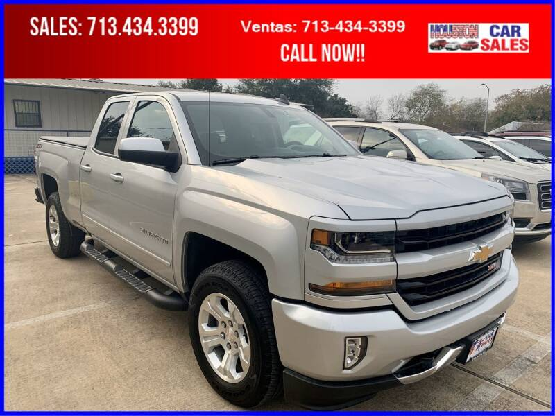 2019 Chevrolet Silverado 1500 LD for sale at HOUSTON CAR SALES INC in Houston TX