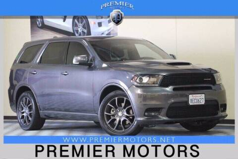 2018 Dodge Durango for sale at Premier Motors in Hayward CA