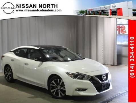 2018 Nissan Maxima for sale at Auto Center of Columbus in Columbus OH
