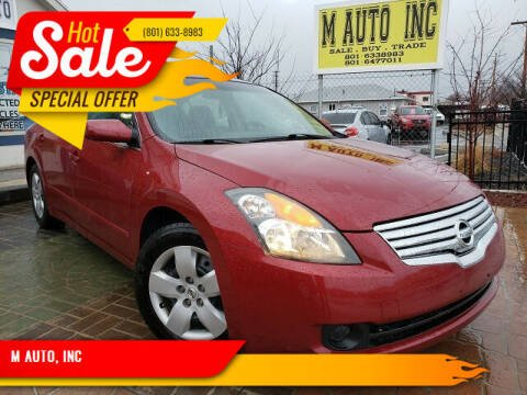 2007 Nissan Altima for sale at M AUTO, INC in Millcreek UT