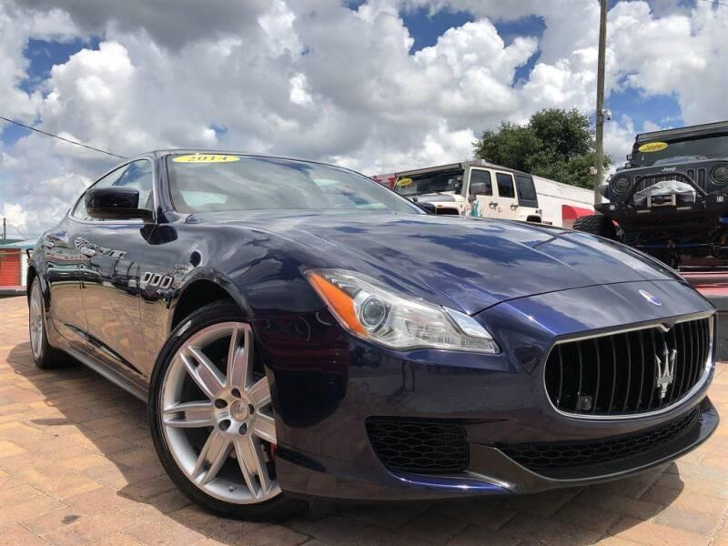 2014 Maserati Quattroporte for sale at Cars of Tampa in Tampa FL