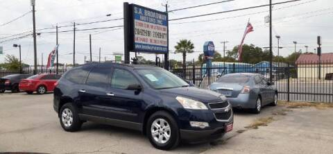 2011 Chevrolet Traverse for sale at S.A. BROADWAY MOTORS INC in San Antonio TX