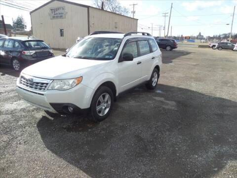 2012 Subaru Forester for sale at Terrys Auto Sales in Somerset PA