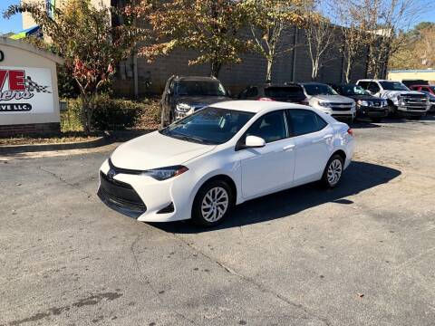 2019 Toyota Corolla for sale at Five Brothers Auto Sales in Roswell GA
